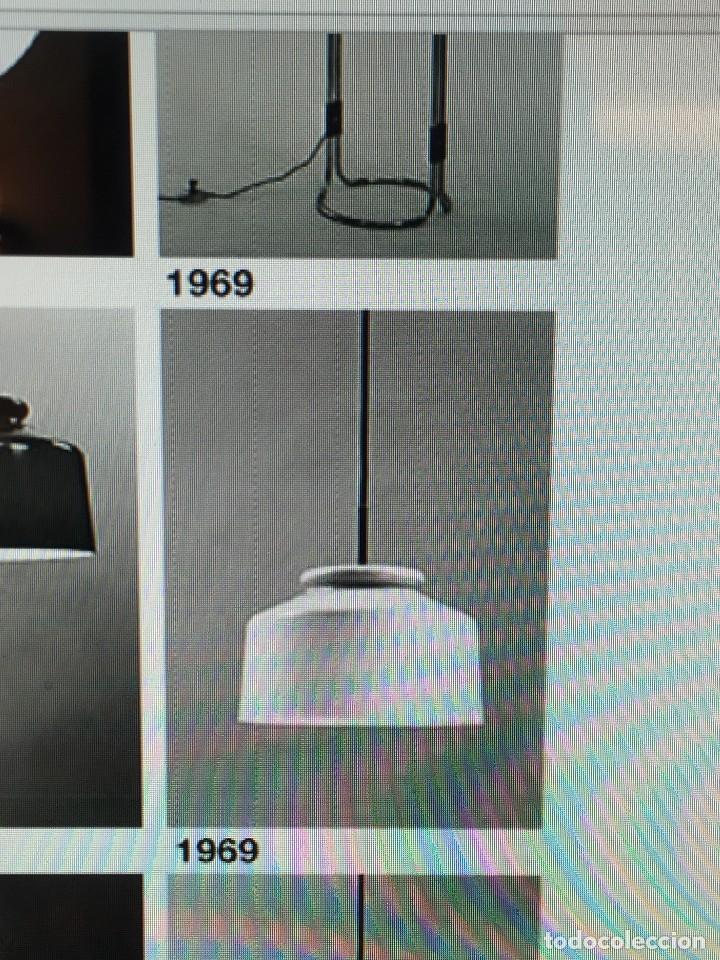 Vintage: LAMPARA COLGANTE MARCA METALARTE DE LOS AÑOS 70 COLOR VERDE - Foto 7 - 194273060