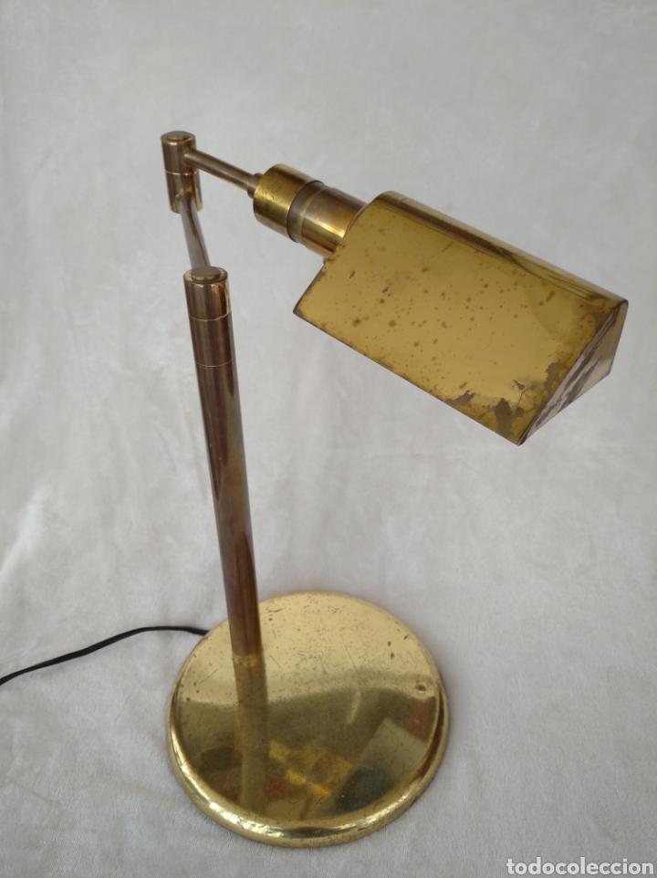 LÁMPARA DE ESCRITORIO ARTICULADA (Vintage - Lámparas, Apliques, Candelabros y Faroles)