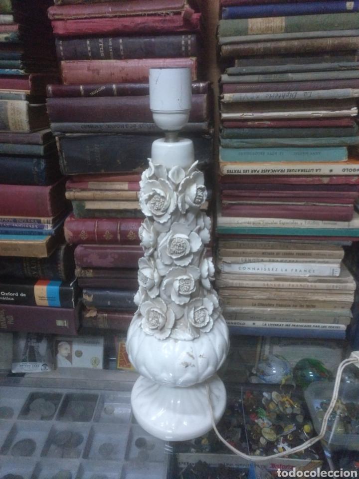 LAMPARA VINTAGE MANISES AÑOS 70 (Vintage - Lámparas, Apliques, Candelabros y Faroles)
