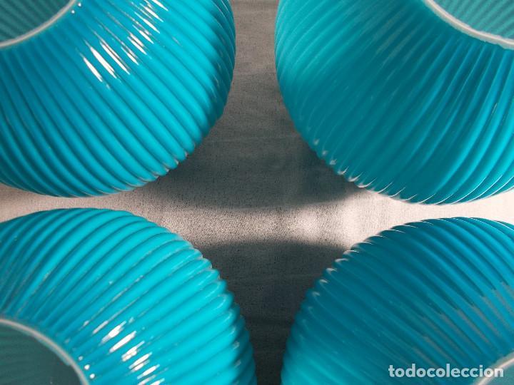 Vintage: LOTE TULIPAS HERMOSO COLOR AZUL - Foto 6 - 194340002