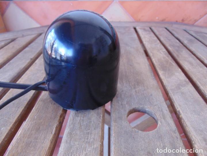 Vintage: LAMPARA DE SOBREMESA HALOGENA EN NEGRO TIPO CISNE NO SE LE VE MARCA FASE O SIMILAR - Foto 6 - 194342398