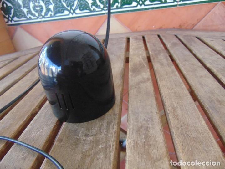 Vintage: LAMPARA DE SOBREMESA HALOGENA EN NEGRO TIPO CISNE NO SE LE VE MARCA FASE O SIMILAR - Foto 7 - 194342398