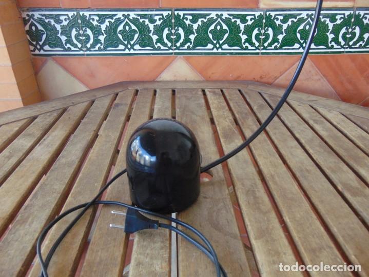 Vintage: LAMPARA DE SOBREMESA HALOGENA EN NEGRO TIPO CISNE NO SE LE VE MARCA FASE O SIMILAR - Foto 10 - 194342398