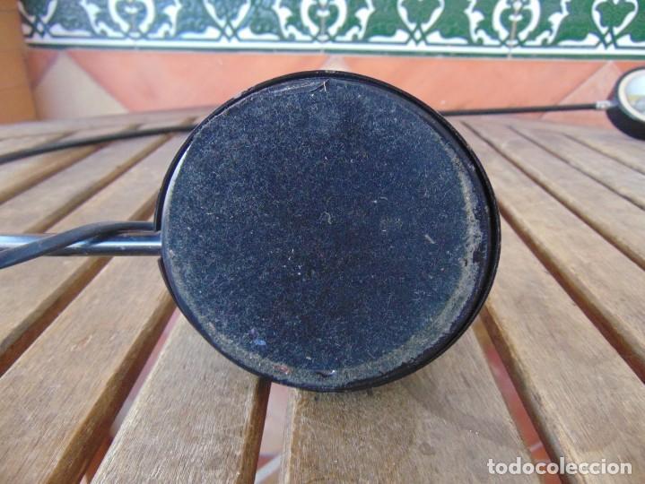 Vintage: LAMPARA DE SOBREMESA HALOGENA EN NEGRO TIPO CISNE NO SE LE VE MARCA FASE O SIMILAR - Foto 13 - 194342398