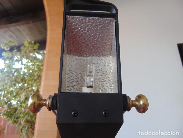 Vintage: LAMPARA DE SOBREMESA HALOGENA EN NEGRO TIPO CISNE O SIMILAR DE LA MARCA FASE - Foto 6 - 194342762