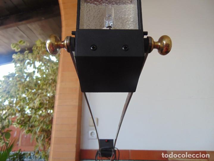 Vintage: LAMPARA DE SOBREMESA HALOGENA EN NEGRO TIPO CISNE O SIMILAR DE LA MARCA FASE - Foto 7 - 194342762