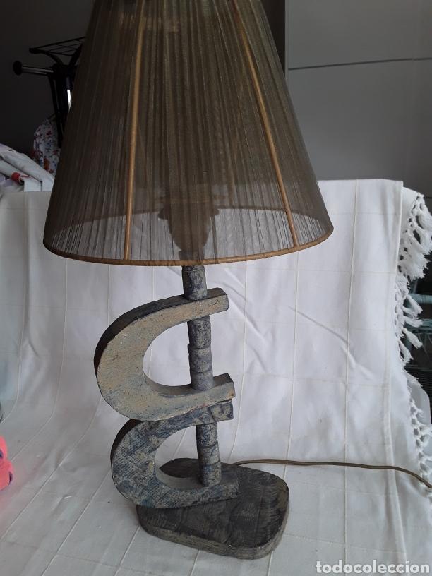 Vintage: Lampara de diseño pie de barro - Foto 3 - 194387422