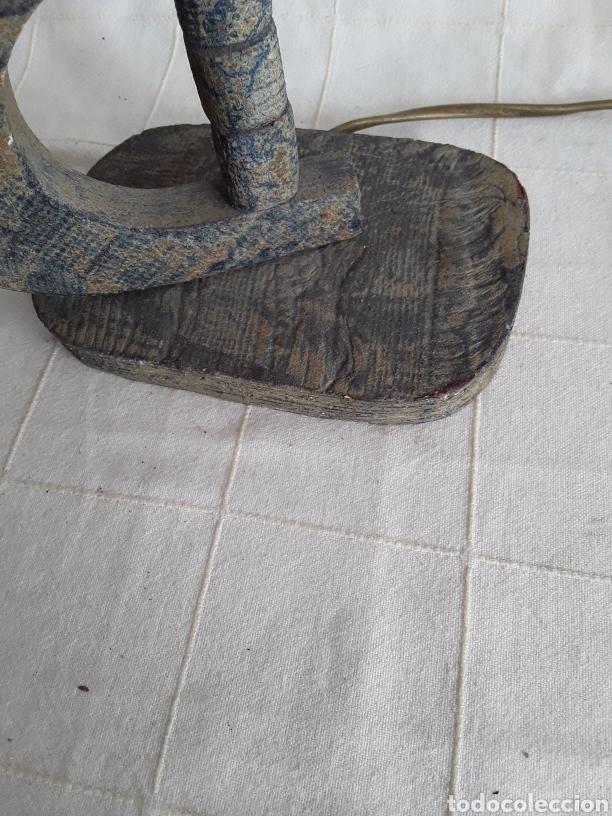Vintage: Lampara de diseño pie de barro - Foto 4 - 194387422