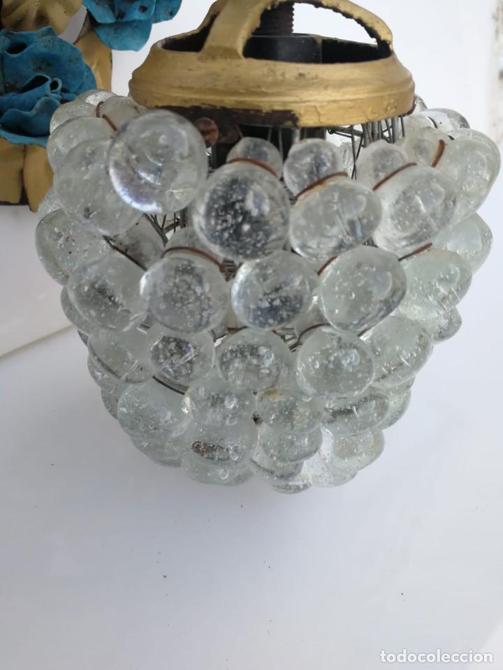 Vintage: Antiguo aplique de racimo de uvas en cristal de murano - Foto 2 - 194502187