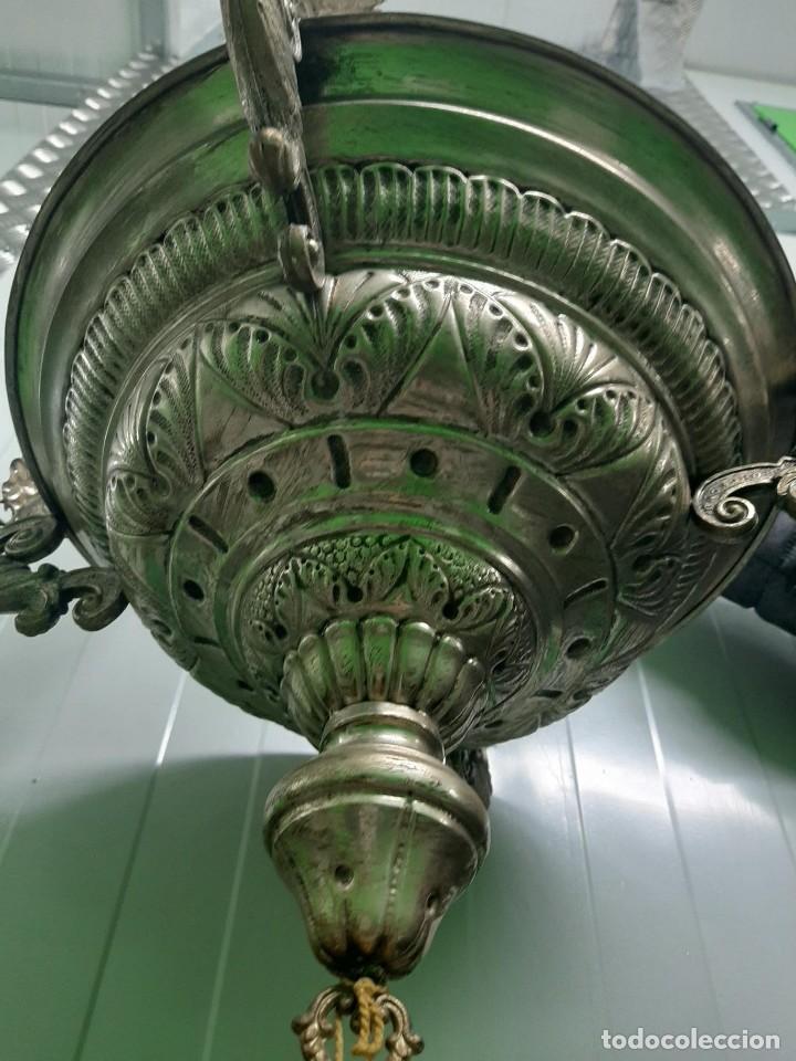 MUY BONITA LAMPARA TIPO SAGRARIO (Vintage - Lámparas, Apliques, Candelabros y Faroles)