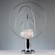 Vintage: LAMPARA FASE PLANETA BARNABA ANGELO BROTTO VINTAGE CROMADO RETRO SPACE AGE ESPAÑA 70'S. Lote 194660076