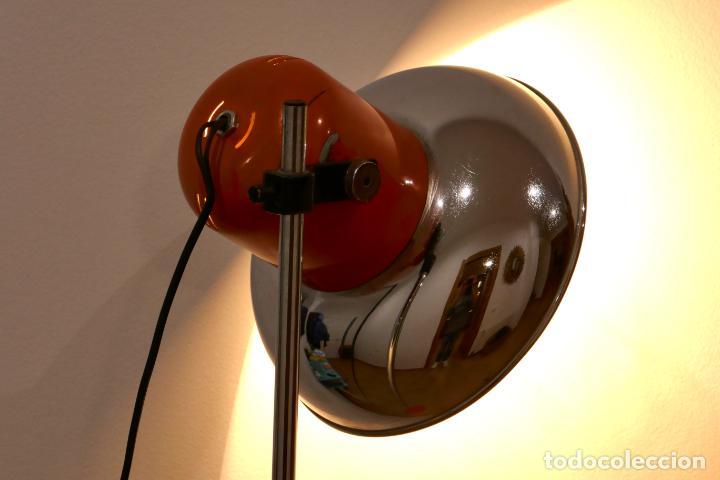 Vintage: Lámpara de pie industrial vintage CODIALPO años 70 retro antigua - Foto 10 - 194883187