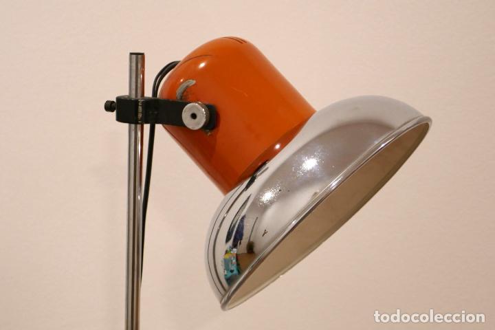 LÁMPARA DE PIE INDUSTRIAL VINTAGE CODIALPO AÑOS 70 RETRO ANTIGUA (Vintage - Lámparas, Apliques, Candelabros y Faroles)