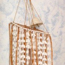 Vintage: LAMPARA DE CONCHAS. Lote 194908921