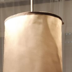 Vintage: LAMPARA DE PIE CON PANTALLA VINTAGE. Lote 194944850