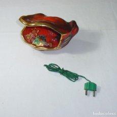 Vintage: LAMPARA VINTAGE EN CERAMICA SELLADA VALLAURIS.. Lote 194978107