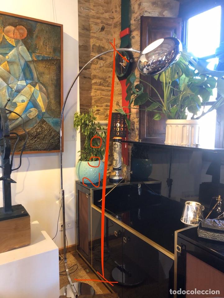 LÁMPARA DE PIE FASE VINTAGE SPACE AGE (Vintage - Lámparas, Apliques, Candelabros y Faroles)