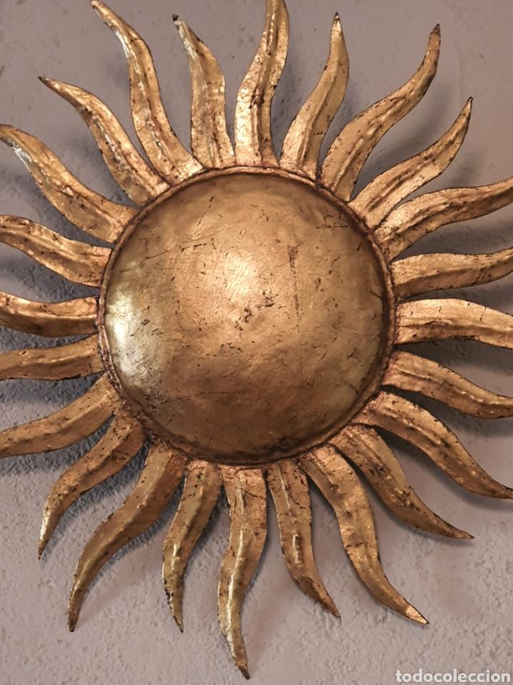 APLIQUE SOL (Vintage - Lámparas, Apliques, Candelabros y Faroles)