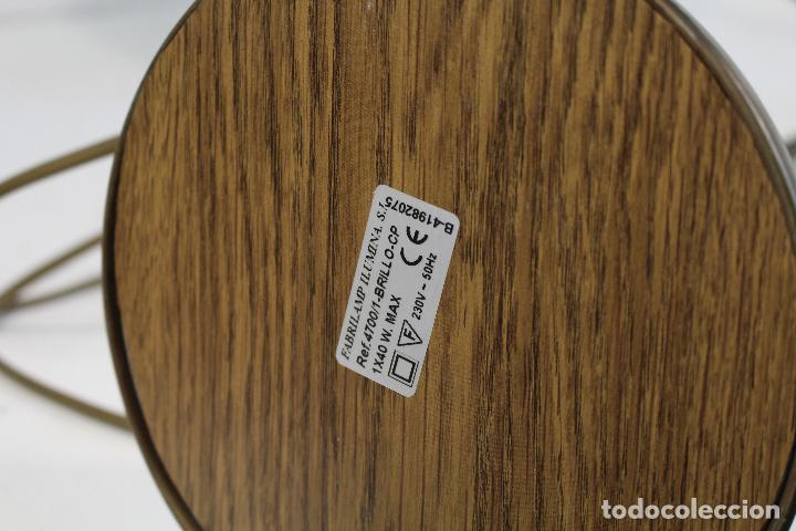 Vintage: flexo lampara de sobremesa en metal dorado - Foto 8 - 195347415