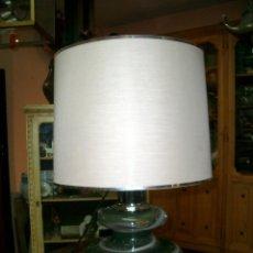 Vintage: LAMPARA DE SOBREMESA EN CRISTAL, MARCA LUMICA, AÑOS 70. Lote 195362646