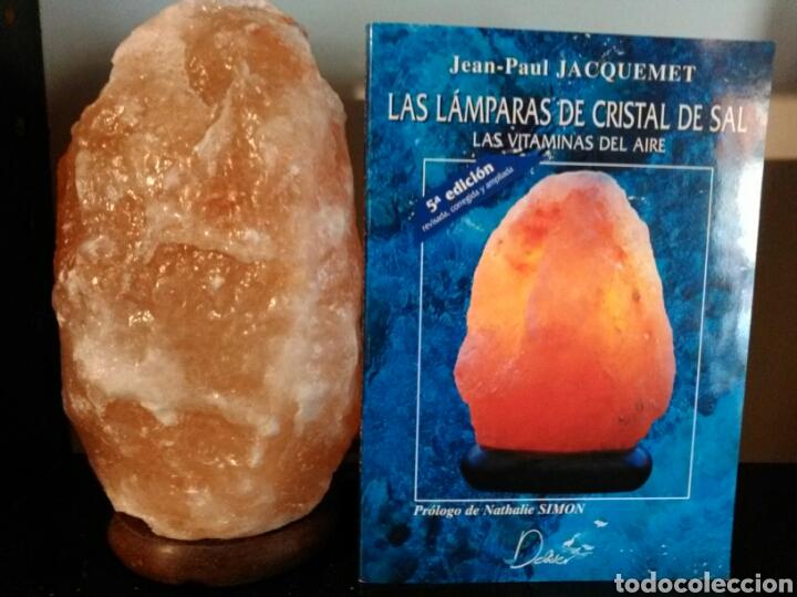Vintage: LÁMPARA DE SAL+LIBRO LAS LÁMPARAS DE CRISTAL DE SAL. - Foto 4 - 195368125