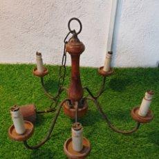 Vintage: LAMPARA ANTIGUA LUZ. Lote 195429168