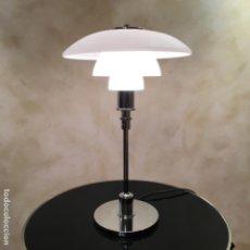 Vintage: LAMPARA DE SOBREMESA. REPLICA DEL DISEÑO DE POUL HENNINGSEN PARA LOUIS POULSEN. Lote 195547170