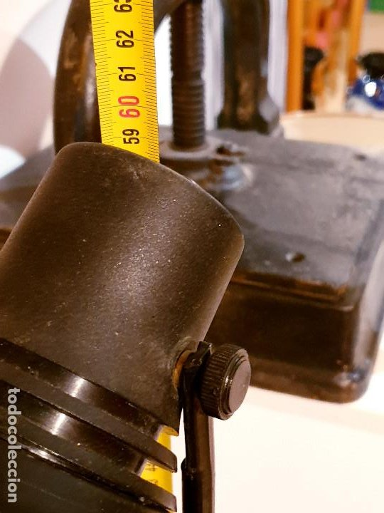 Vintage: ANTIGUA LAMPARA ESCRITORIO VINTAGE FASE LAMPARA AÑOS 60-70 - Foto 9 - 196552161