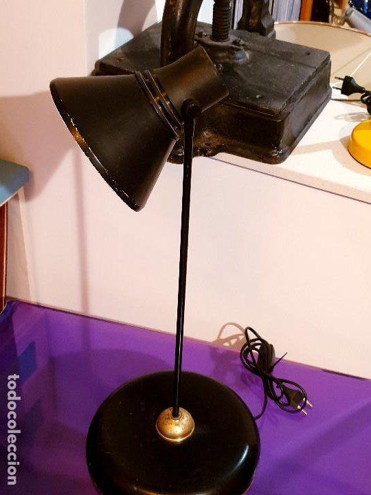 Vintage: ANTIGUA LAMPARA ESCRITORIO VINTAGE FASE LAMPARA AÑOS 60-70 - Foto 6 - 196552161