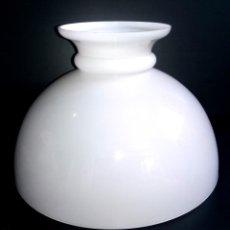 Vintage: TULIPA QUINQUE CRISTAL OPALINA BLANCA . Lote 196566200
