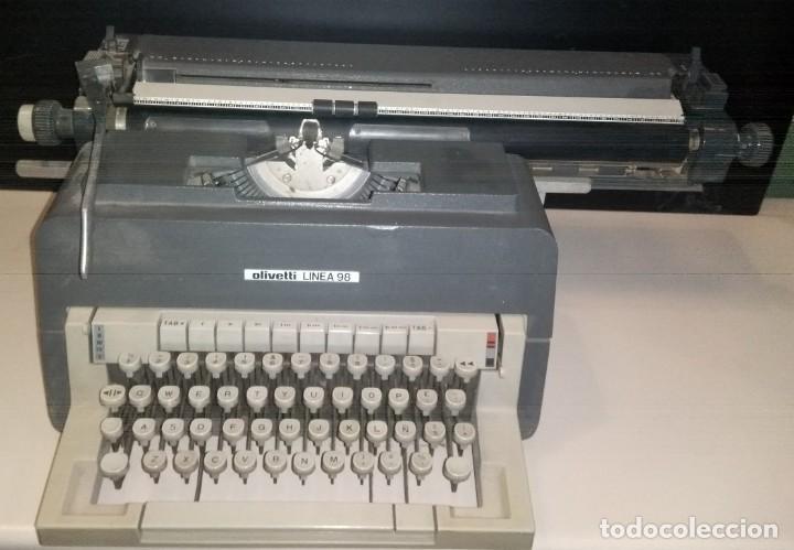 Vintage: MAQUINA DE ESCRIBIR OLIVETTI LINEA 98 - Foto 2 - 196765316