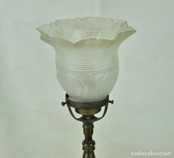 Vintage: Lámpara sobremesa tulipa hacia arriba - Foto 5 - 61147855