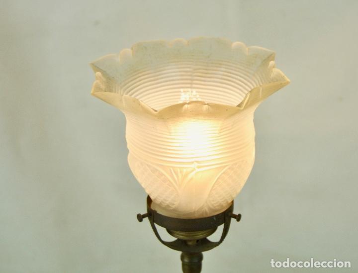 Vintage: Lámpara sobremesa tulipa hacia arriba - Foto 7 - 61147855