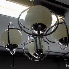 Vintage: LAMPARA DE TECHO AÑOS 70. Lote 197291655