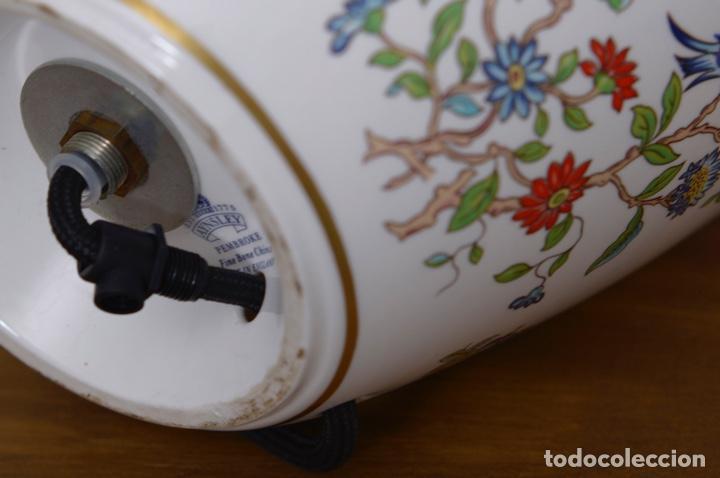 Vintage: Lámpara de sobremesa AYNSLEY en cerámica esmaltada Inglaterra 1960`s - Foto 2 - 102799468