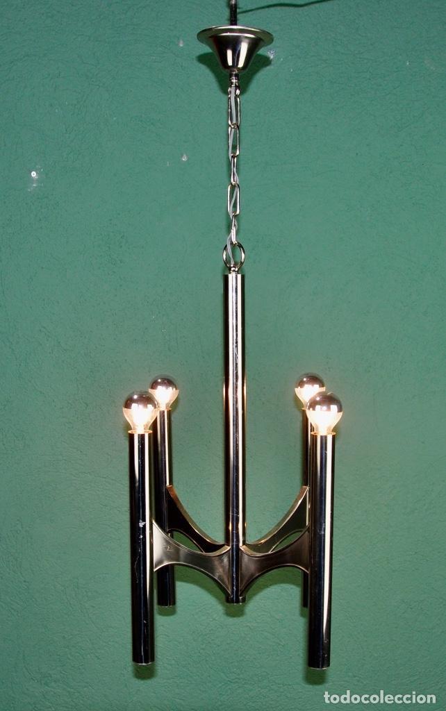 Vintage: Lámpara Gaetano Sciolari - Foto 4 - 142585214