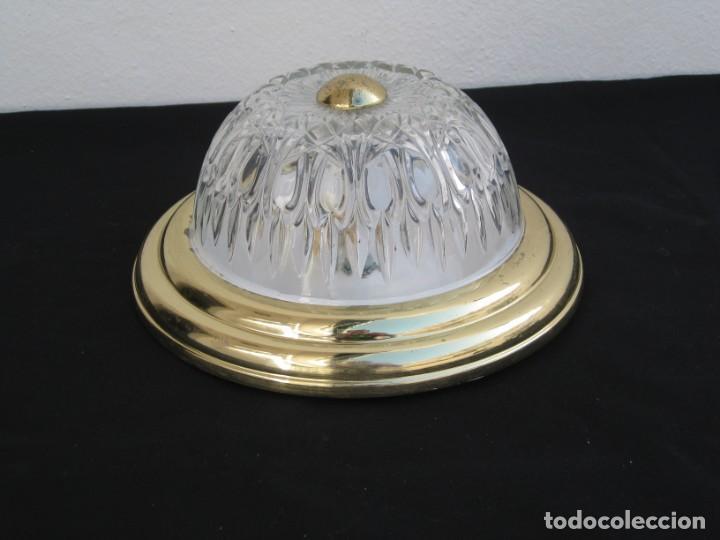 LAMPARA DE TECHO DE PLAFON. (Vintage - Lámparas, Apliques, Candelabros y Faroles)