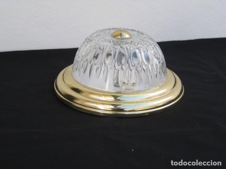Vintage: Lampara de techo de plafon. - Foto 3 - 198021957