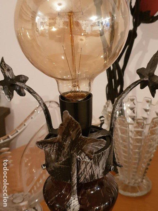 Vintage: LAMPARA SOBREMESA CRISTAL MURANO MODERNISTA - Foto 21 - 198253543