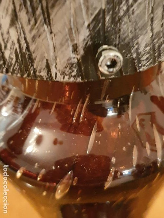 Vintage: LAMPARA SOBREMESA CRISTAL MURANO MODERNISTA - Foto 22 - 198253543