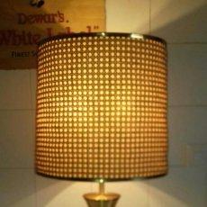 Vintage: LAMPARA VINTAGE DE LATON. Lote 263879695