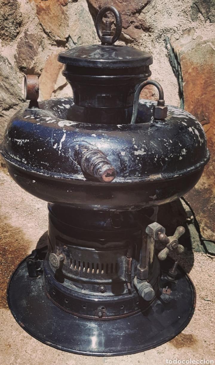 LAMPARA DE BARCO PETROMAX GRANDE (Vintage - Lámparas, Apliques, Candelabros y Faroles)