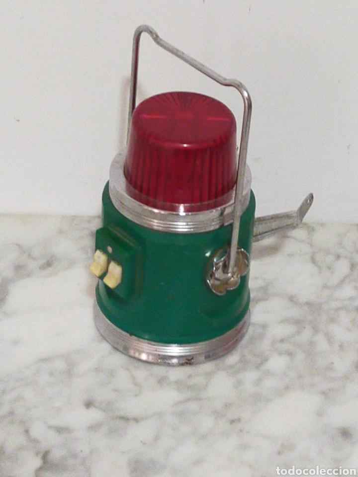 ANTIGUA Y RARA LAMPARA REDSPOT MADE IN HONG KONG (Vintage - Lámparas, Apliques, Candelabros y Faroles)