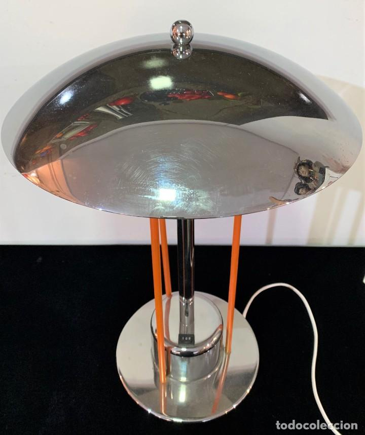 Vintage: Lámpara de mesa. - Foto 3 - 201666362