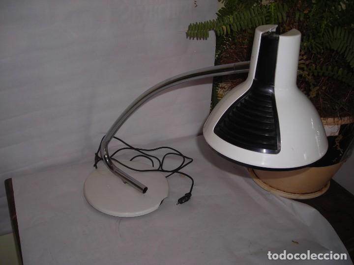 Vintage: lampara fase sobremesa blanca - Foto 5 - 246153270