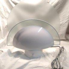 Vintage: ESTILUZ LAMPARA SOBREMESA AÑOS 70 VINTAGE, MOD 1101 BLANCO, NUEVA ESTRENAR RESTO ALMACÉN. Lote 203285207
