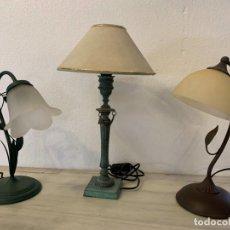 Vintage: LOTE DE 3 APLIQUES DE SOBREMESA. Lote 203503076