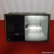 Vintage: ENORME FOCO LAMPARA INDUSTRIAL CARANDINI.57 X 37 X 21 CM. Lote 203844662