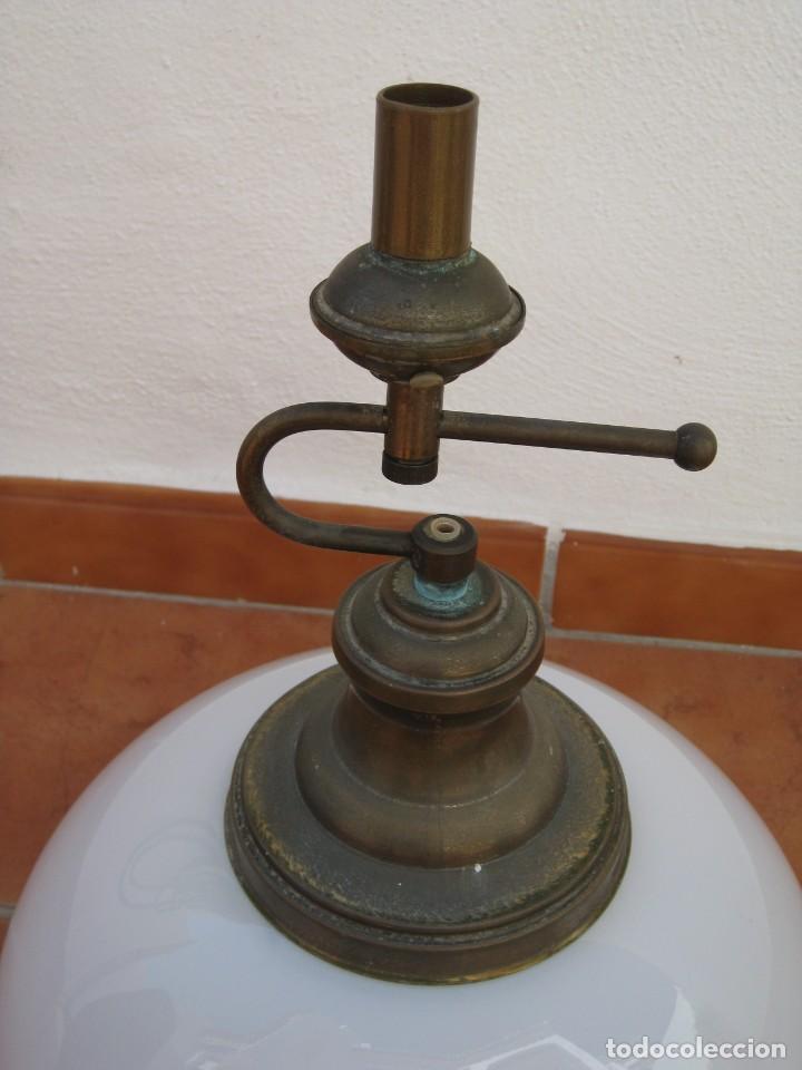 Vintage: Lampara tipo despacho. Falta el cable electrico. - Foto 2 - 204349908