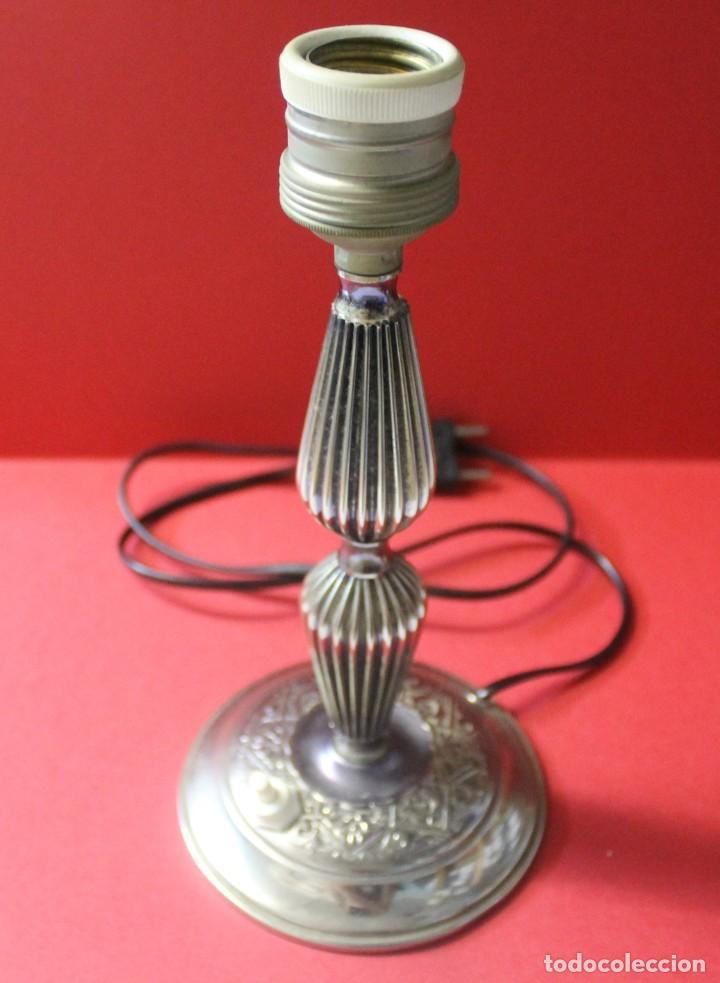 Vintage: PAREJA PIE DE LAMPARA MESITA DE NOCHE VINTAGE - Foto 2 - 205547808